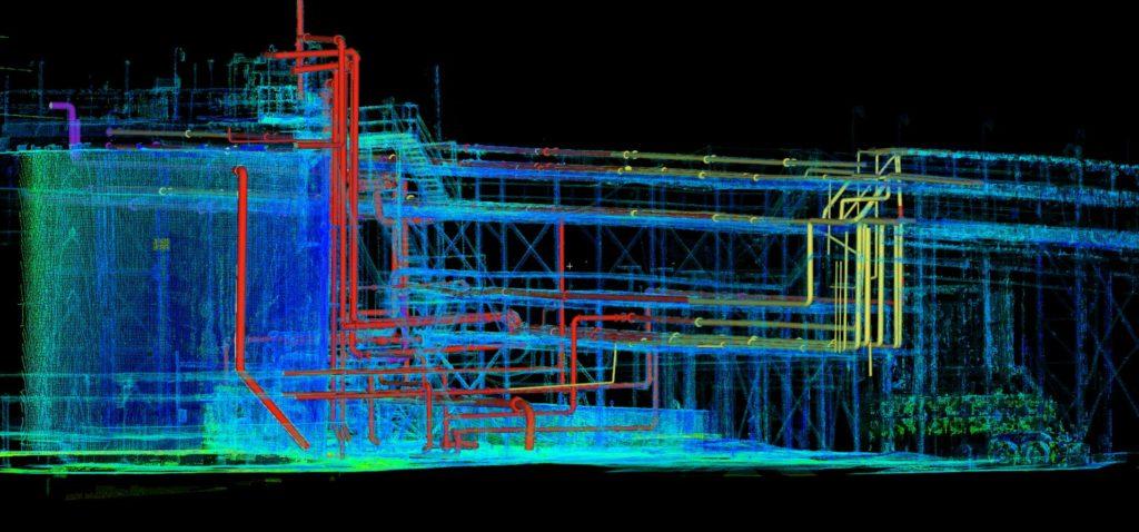 Лазерное сканирование   - 3D видение кадастра